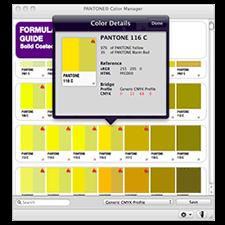 Oprogramowanie PANTONE COLOR MANAGER Software PSD-CM100