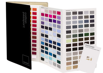 Wzorniki Pantone Fashion & Home Cotton Passport - FFC124