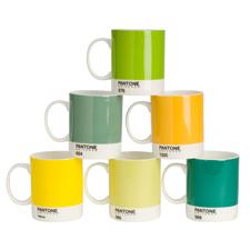 Pantone Mugs Mixed Yellows and Greens 2011-019
