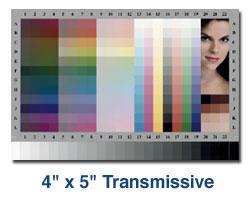 Wzorzec Kodak IT8.7/1 4x5 Transmissive - materiały przeźroczyste do kalibracji skanerów