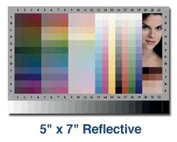 Wzorzec Kodak IT8.7/21 5x7 Reflective - materiały refleksyjne do kalibracji skanerów