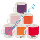 Zestaw filiżanek Pantone Espresso set - Mixed Reds and Pinks