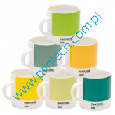 Zestaw filiżanek Pantone Espresso set - Mixed Yellows and Greens